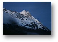 The Peruvian Andes - Salcantay mountains